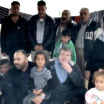 Flüchtlinge leiden in Griechenland