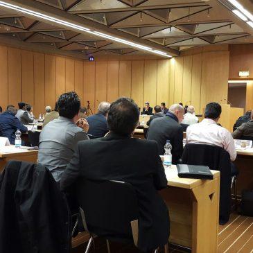 Sitzung zur Gründung des Ezidischen Bundesdachverbandes