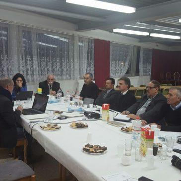 Vorstandssitzung ZED