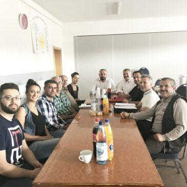 Sitzung der Steuerungsgruppe des Landesverband der Eziden in Niedersachsen