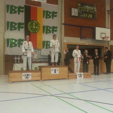 Erster Platz bei den IBF German Open 2017