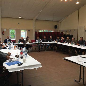 Sitzung des Gründungskomitees des Êzidischen Landesverband in Niedersachsen