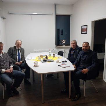 Treffen mit Frank Ammermann von den Kickers Leer